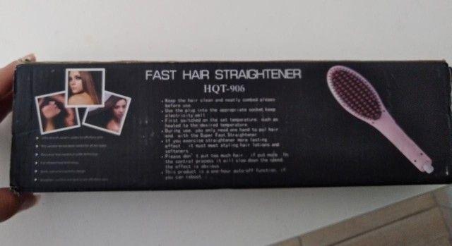 Escova alisadora Fast Jair Straghtener HQT-906 - Foto 4