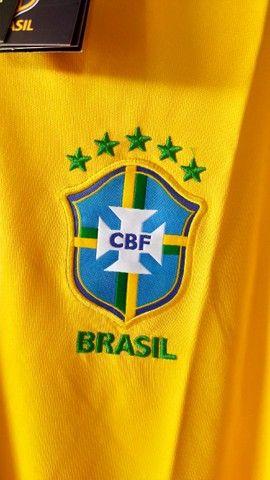 Camisa Seleção Brasileira -  Torcedor  - 2021 - Foto 2