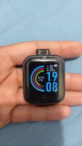 Smartwatch D20 Y68 novo na caixa - Foto 3