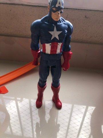 Capitao america, thor,batman, hulk e homen aranha - Foto 2