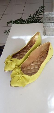 Sapatilha Petit Jolie verde limão