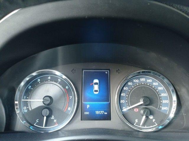 Corolla xei 2019 financio em até 60 x carro muito novo - Foto 10