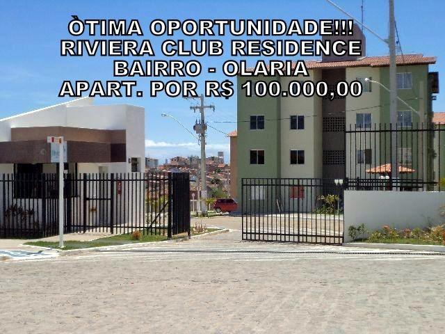 Excelente Oportunidade Apto. R$ 100.000,00 Riviera Club Residence no Bairro Olaria