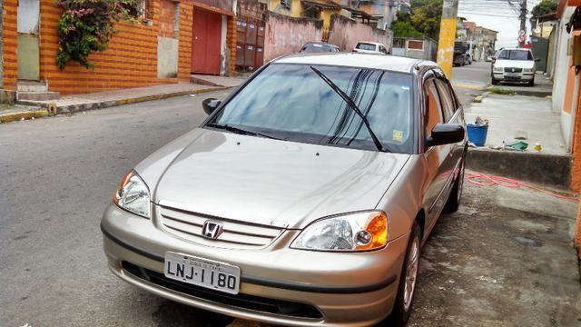 Honda Civic 2001 Automático 118mil Km Revisado