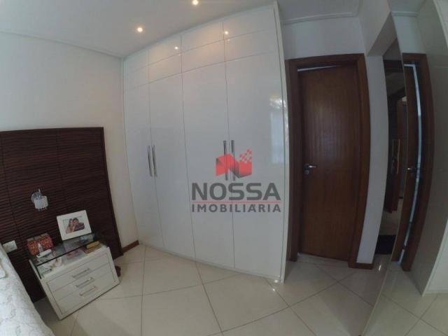 Apartamento 3 quartos em Jardim Camburi com 4 vagas, montado e decorado - Foto 13
