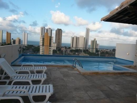 Flat em Ponta Negra, mobiliado, 2 quartos