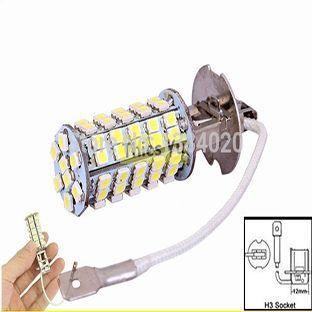 Lâmpada Modelo H3 Com 68 Leds 3528 Super Branca 5500k valor unitario - Foto 2