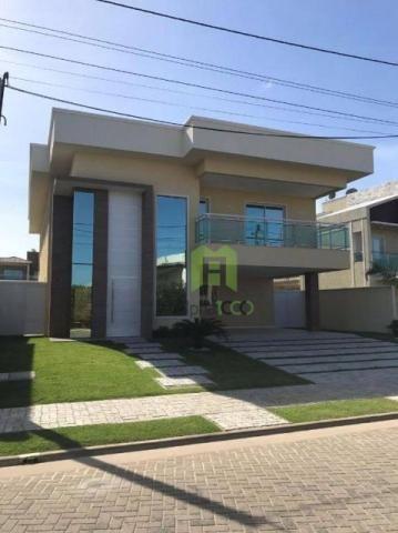 CA0037 - Casa residencial à venda, Alphaville Eusébio