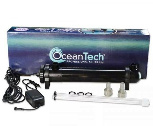 Filtro Uv Esterilizador 36w Ocean Tech Aquários Fontes Lagos