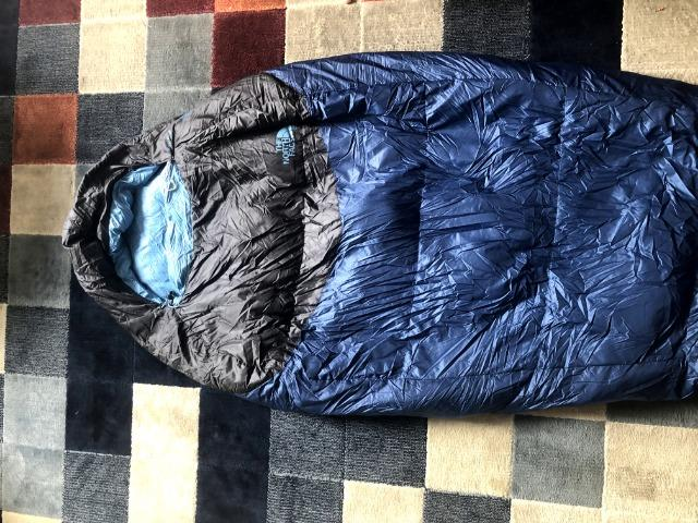 389c11e9e Saco de Dormir North Face Blue Kazoo