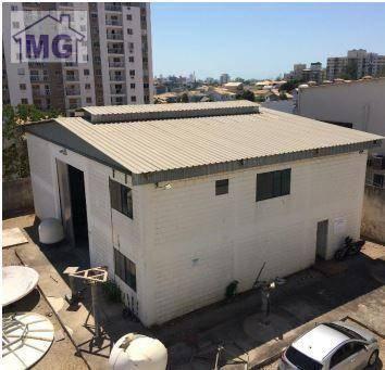 Galpão para alugar, 447 m² por r$ /mês - granja dos cavaleiros - macaé/rj