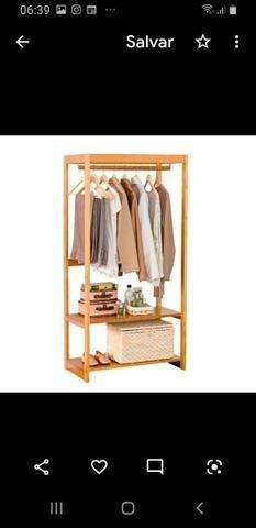 Araras para roupas e closets - Foto 5