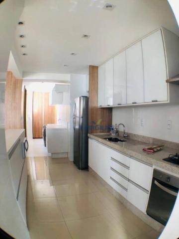 Apartamento com 3 suítes à venda, 117 m² por r$ 620.000 - jardim goiás - goiânia/go - Foto 9