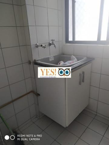 Yes imob- apartamento para locação, muchila, feira de santana, 3 dormitórios sendo 1 suíte - Foto 4