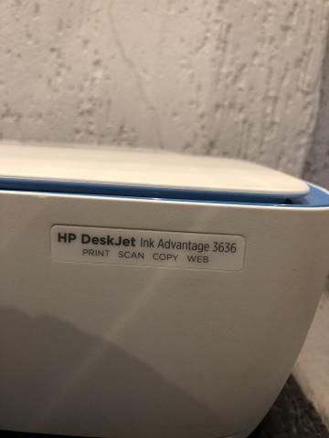 Impressora Multifuncional HP Deskejet Ink Advantage 3636 Wi-Fi - Foto 4