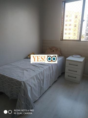Apartamento mobiliado para locação, muchila, feira de santana, 3 dormitórios sendo 1 suíte