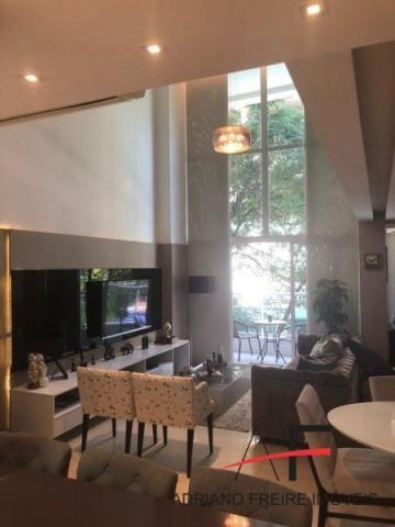 Apartamento duplex no Cocó, totalmente mobiliado - Foto 15
