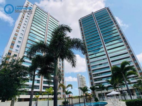 Apartamento com 4 dormitórios à venda, 182 m² por R$ 1.500.000,00 - Guararapes - Fortaleza