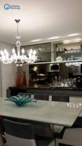 Apartamento com 4 dormitórios à venda, 182 m² por R$ 1.500.000,00 - Guararapes - Fortaleza - Foto 4