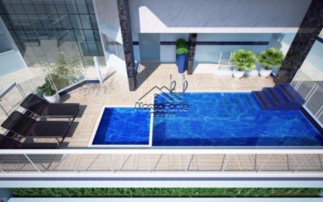 Lançamento Apartamento Vista Para o Mar no Caiçara em Praia Grande - Foto 3
