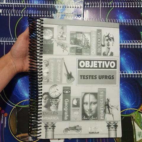 Livros Vestibular Objetivo + Livro de Provas da ufrgs - Foto 2