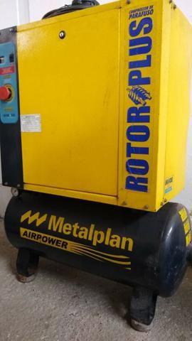 Compressor Parafuso Metalplan 6 Hp