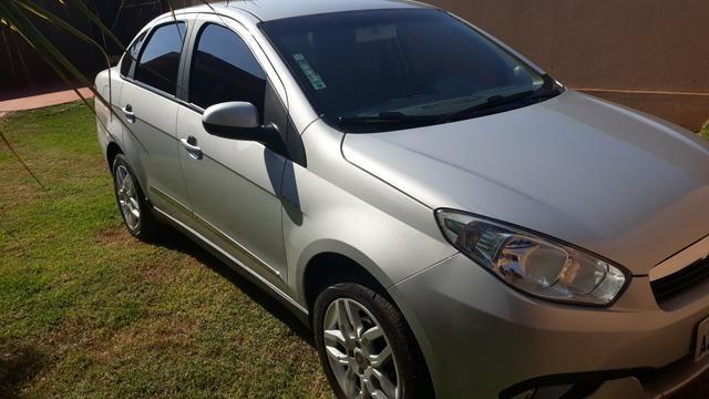 Vendo ou troco grand Siena essence dual automático 2015 - Foto 3
