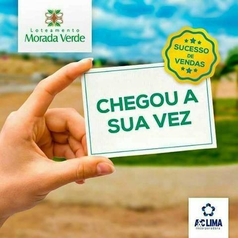Terreno no morada verde - Lote 8x20 - Loteamento 100% Legalizado - Mensais de R$ 479 - Foto 2