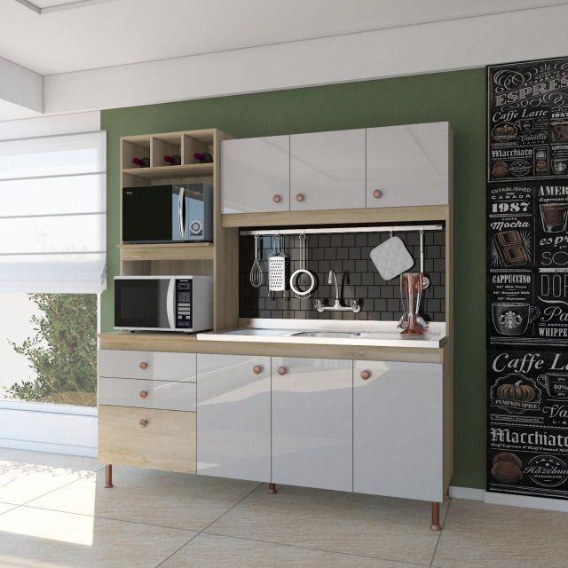 Cozinha compactada 1,80