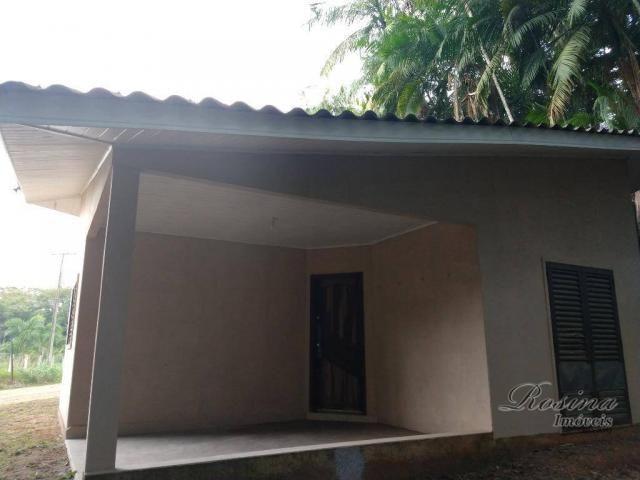 Chácara com fundos para o rio - 2559 m² por R$ 195.000 - América de Baixo - Morretes/PR - Foto 11