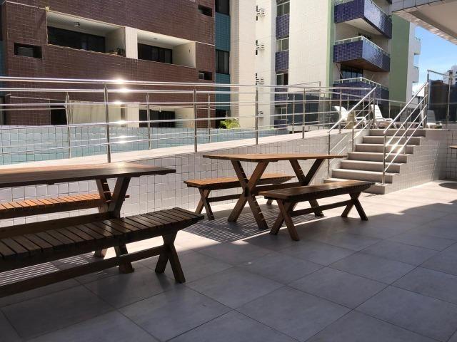 Vendo ótimos apartamentos novos a 50 metros do Retão de Manaira - Foto 5