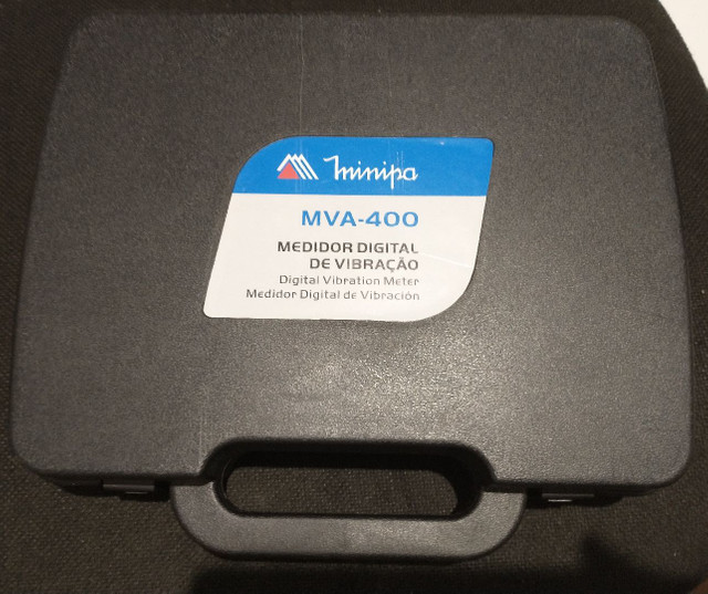 MVA-400 medidor digital de vibração