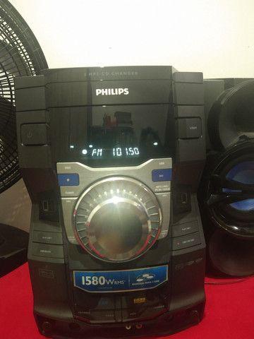 Som Philips modelo FWM9000X/78 1580 wrms do. Para retirada de peças