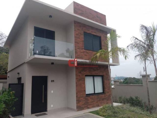 Casa com 3 dormitórios à venda, 101 m² por R$ 481.960 - Centro - Jaguariúna/SP