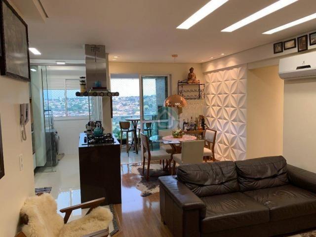Apartamento com 3 dormitórios à venda, 73 m² por R$ 545.000,00 - Monte Castelo - Campo Gra - Foto 14