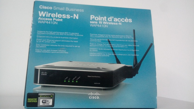 Wirelles-N Access Point wap 4410N