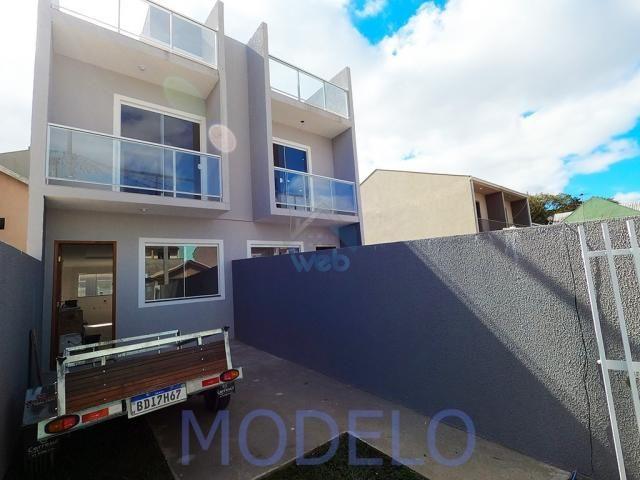 Sobrado à venda com 2 quartos, 72,99 m², terraço, próximo ao Santuário da Divina Misericór - Foto 2