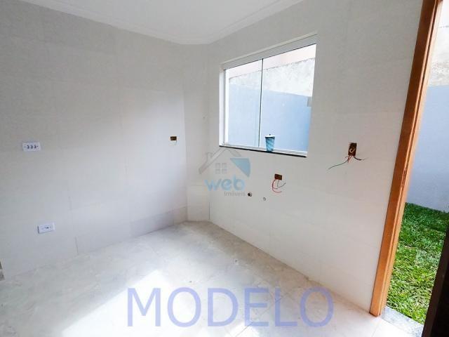 Sobrado à venda com 2 quartos, 72,99 m², terraço, próximo ao Santuário da Divina Misericór - Foto 8