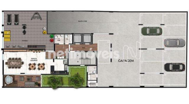 Apartamento à venda com 3 dormitórios em Funcionários, Belo horizonte cod:770166 - Foto 9