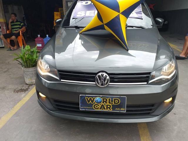 Saveiro highline 2015 cabine dupla, 5 lugares é na World Car - Foto 7