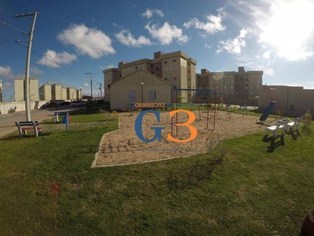 Apartamento com 2 dormitórios à venda, 45 m² por R$ 125.000,00 - Vila Braz - Rio Grande/RS - Foto 2