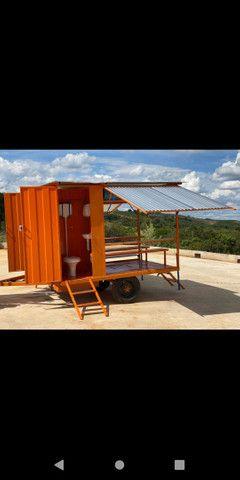 Container refeitório com dois banheiros  - Foto 2