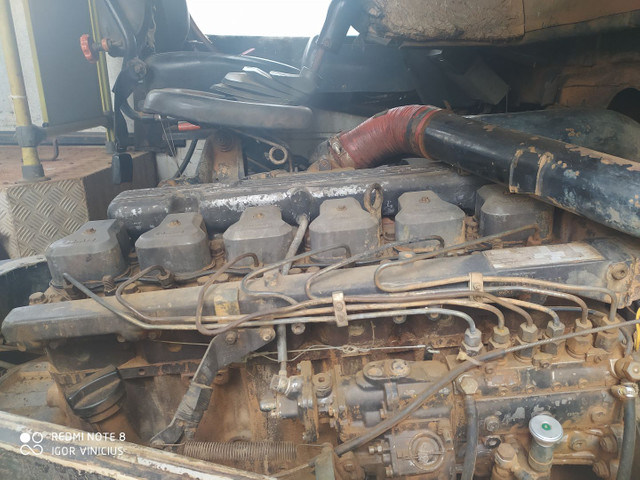 VENDO MOTOR 6CL MWM X10 TURBO E CAIXA DE MACHA DO FUSCÃO EATON 6 MACHA - Foto 2