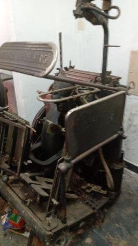 Tipográfica Heidelberg leque