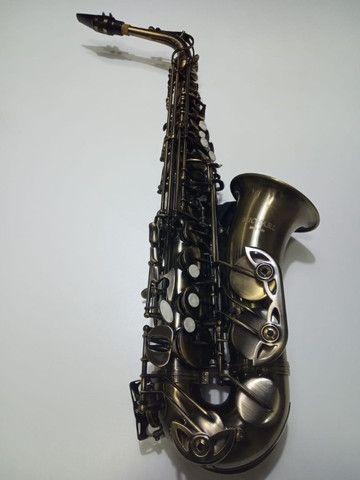 Sax Alto Michael usado duas vezes apenas