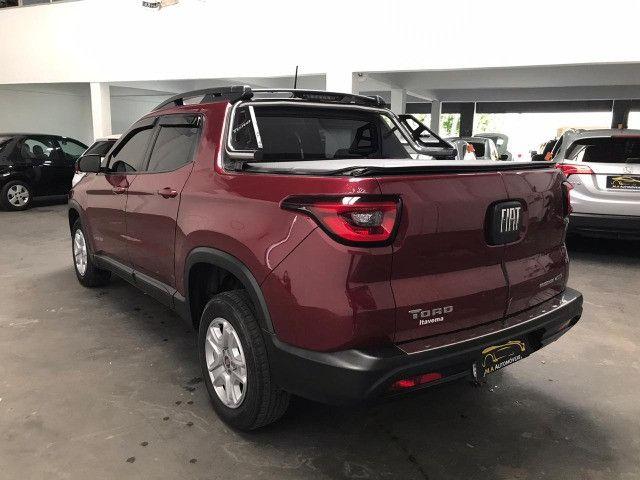 Fiat-Toro freedom 1.8 aut+Gnv Financiamos sem comprovação de renda - Foto 6