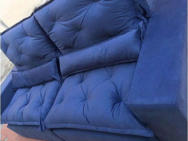 Sofá Retrátil e Reclinável Elegance - Foto 5