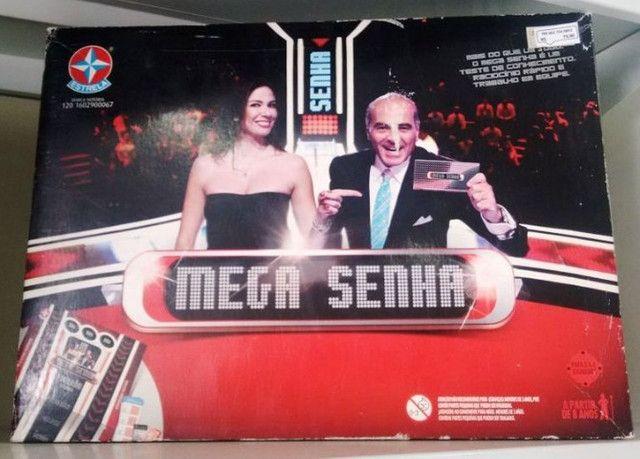 """""""Mega Senha"""" Estrela - produto novo"""