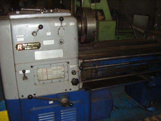 Torno mecânico wafum 2 mts usado - Foto 5