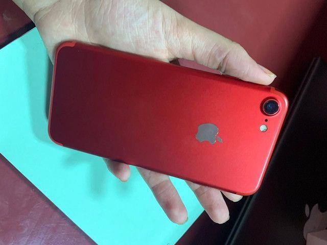 iPhone 7 de 32GB, de Vitrine sem marcas, saúde da bateria batéria 100% 1,600 - Foto 2